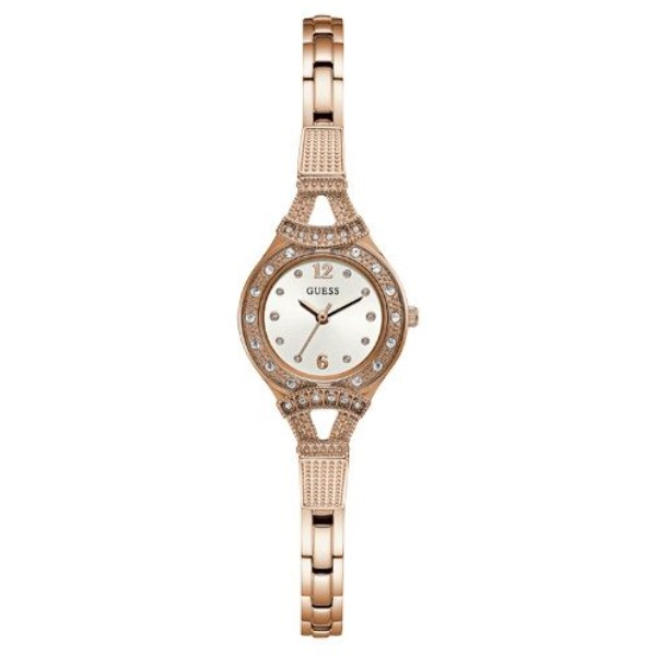 ゲス レディース 腕時計【Metal Bracelet Watch】rose gold