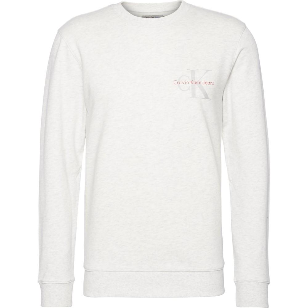 カルバンクライン メンズ トップス スウェット・トレーナー【Homer Slim Fit Sweatshirt】grey