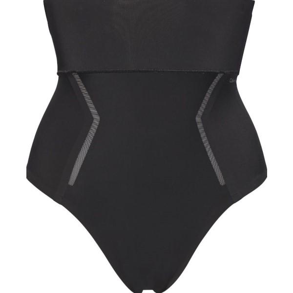 カルバンクライン レディース インナー・下着 ショーツのみ【Sculpted High Waist Shapewear Thong】black