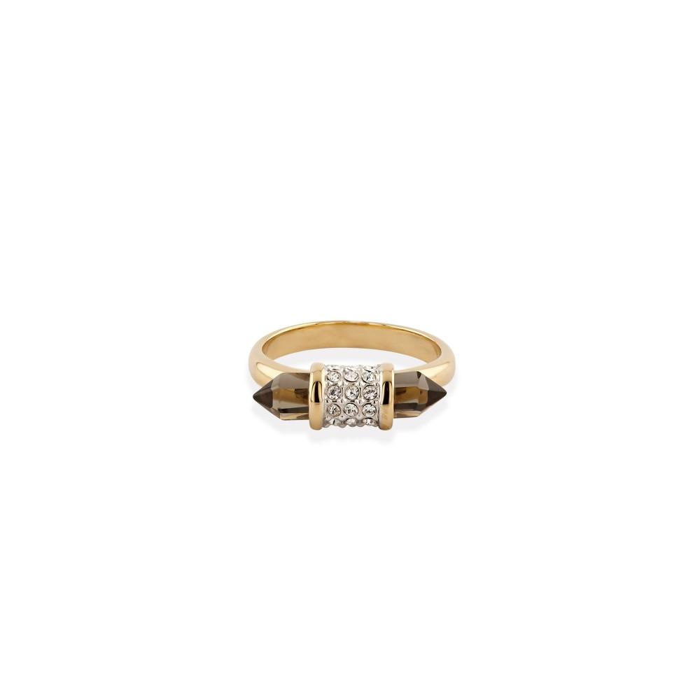 バックリーロンドン レディース ジュエリー・アクセサリー 指輪・リング【Shard Glass Ring】gold yellow