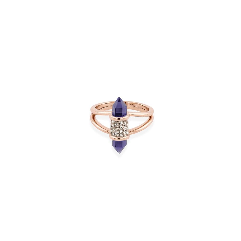 バックリーロンドン レディース ジュエリー・アクセサリー 指輪・リング【Shard Amy Glass Ring】rose gold