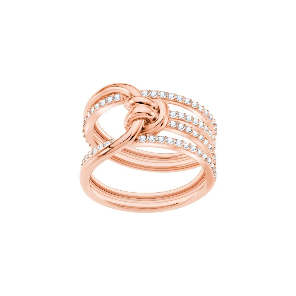 スワロフスキー レディース ジュエリー・アクセサリー 指輪・リング【Lifelong Ring】rose gold