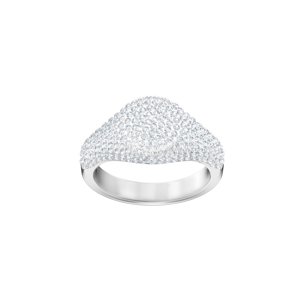スワロフスキー レディース ジュエリー・アクセサリー 指輪・リング【Stone Signet Ring】silver