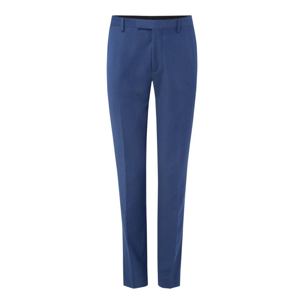 テッドベーカー メンズ ボトムス・パンツ スラックス【Hilman Slim Fit Timeless Plain Trousers】blue