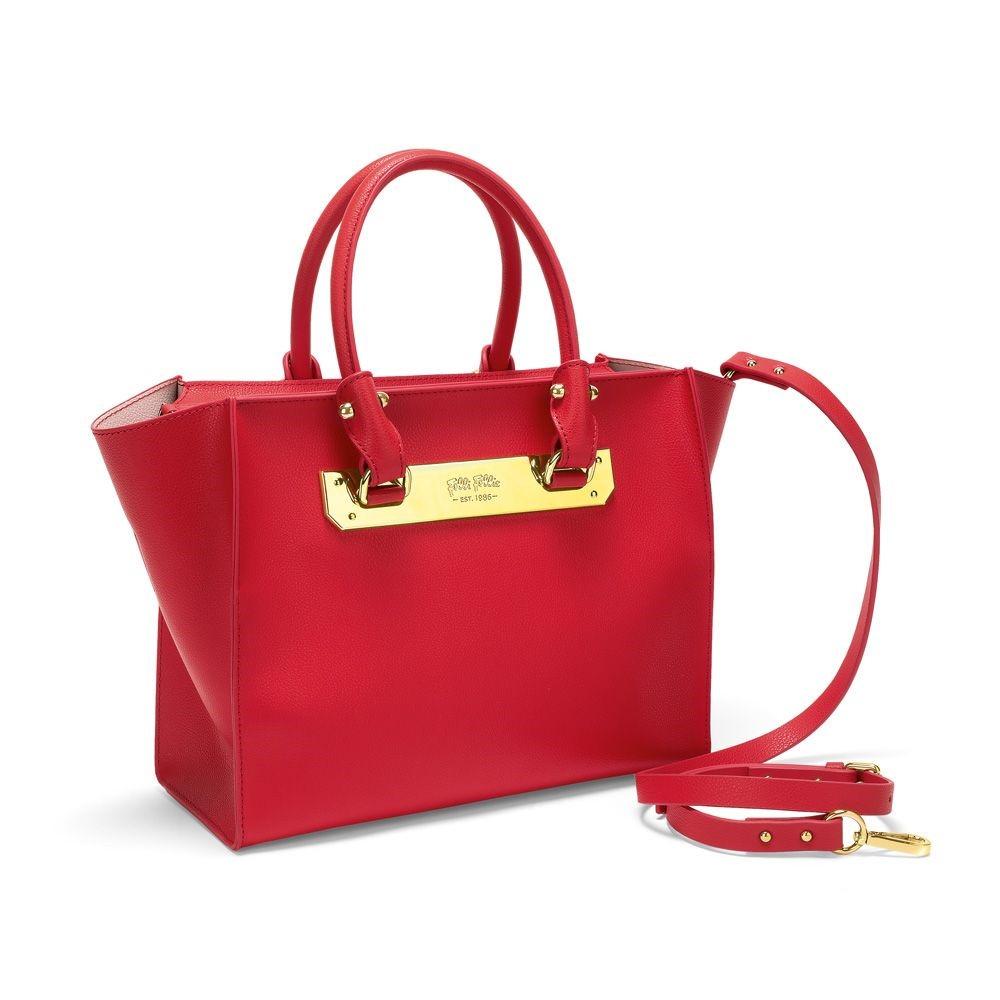 フォリフォリ レディース バッグ ハンドバッグ【Style Code Red Handbag】red