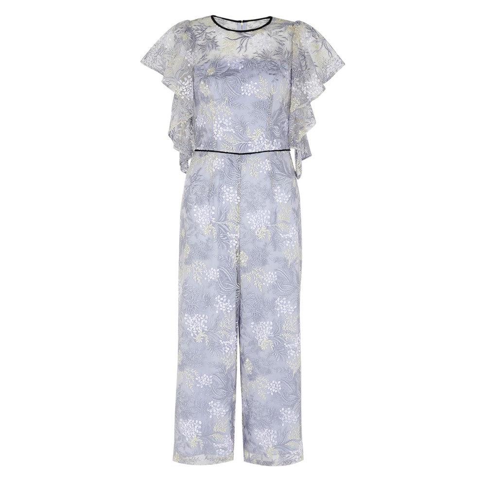 コースト レディース ワンピース・ドレス オールインワン【Enid Embroidered Jumpsuit】pale blue