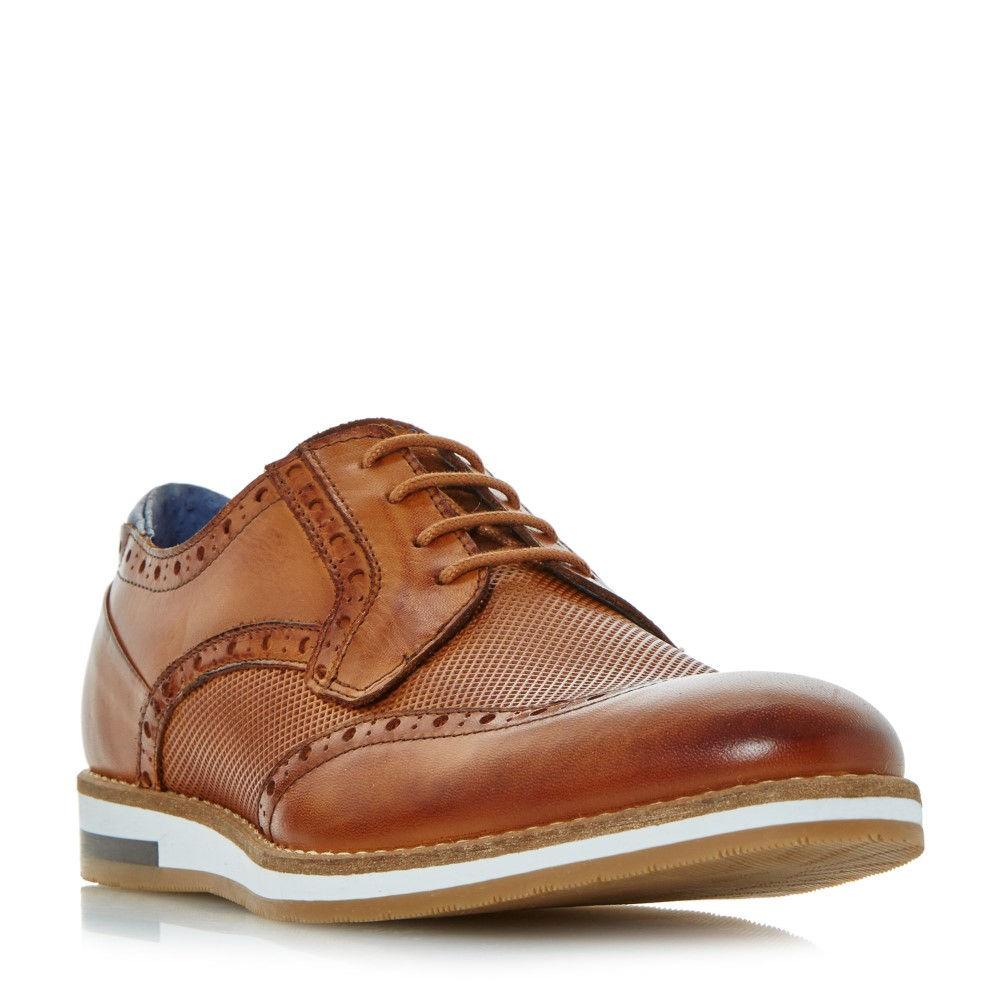 バーティ メンズ シューズ・靴 革靴・ビジネスシューズ【Baker Hill Wedge Sole Brogue Shoes】