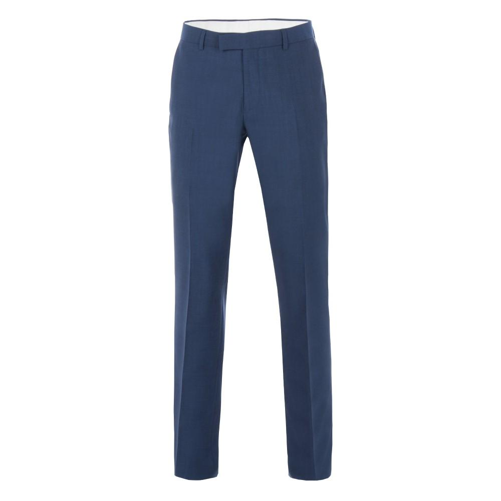 レーシング グリーン メンズ ボトムス・パンツ スラックス【Anton Blue Panama Suit Trouser】blue