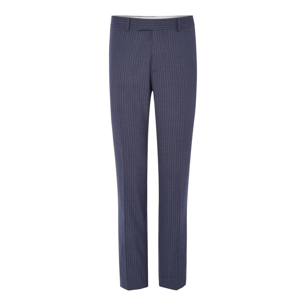 リチャード ジェームス メンズ ボトムス・パンツ スラックス【Wide Stripe Slim Suit Trouser】blue