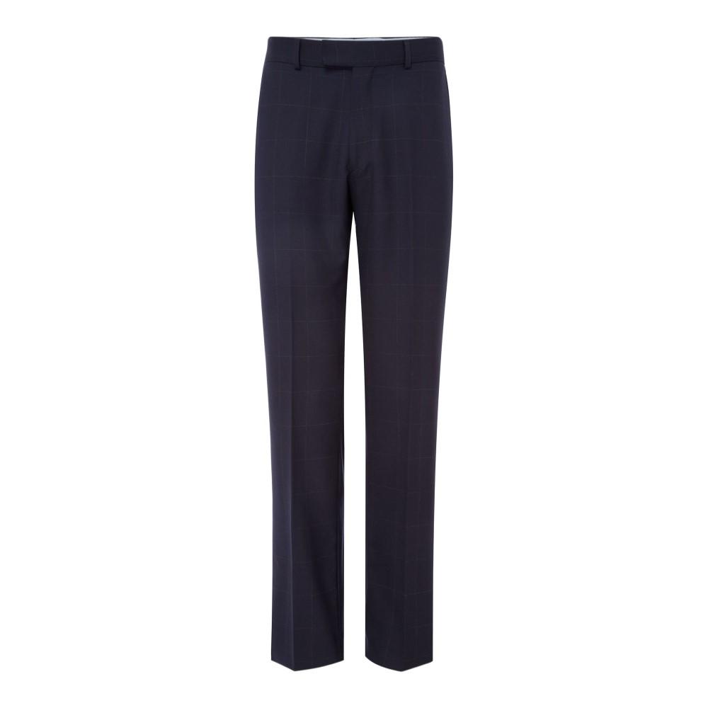 チェスター バリー メンズ ボトムス・パンツ スラックス【Windowpane Suit Trousers】navy
