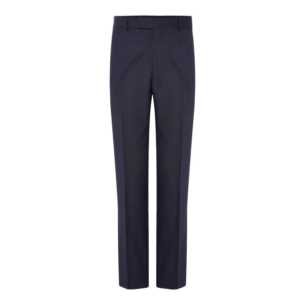 サイモン カーター メンズ ボトムス・パンツ スラックス【Spotted Pindot Grant Suit Trousers】navy