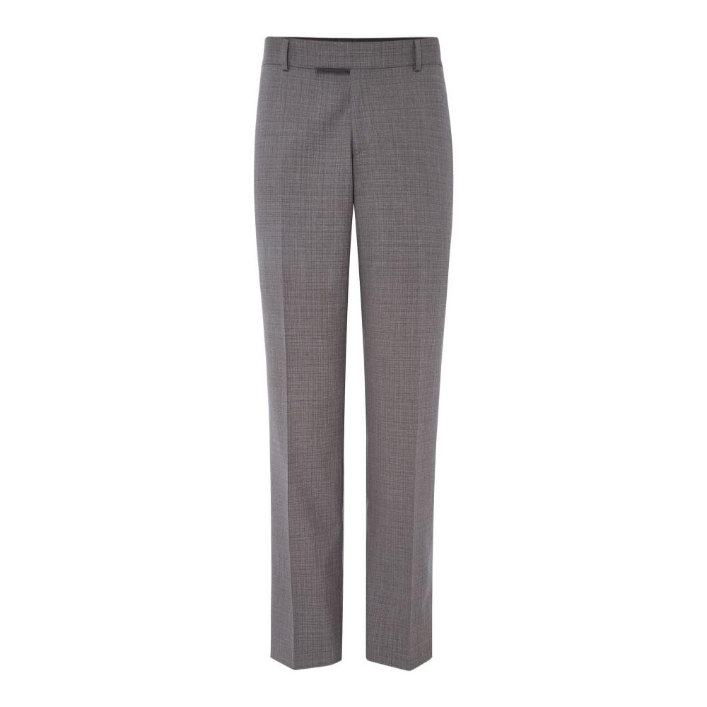 サイモン カーター メンズ ボトムス・パンツ スラックス【Irregular Self Check Grant Suit Trousers】grey