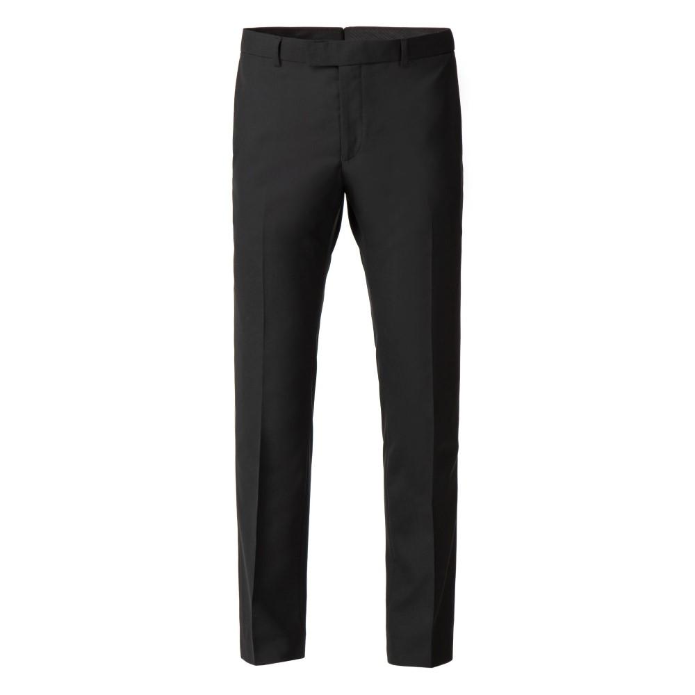 アレクサンダー オブ イングランド メンズ ボトムス・パンツ スラックス【Lenox Slim Panama Trouser】black