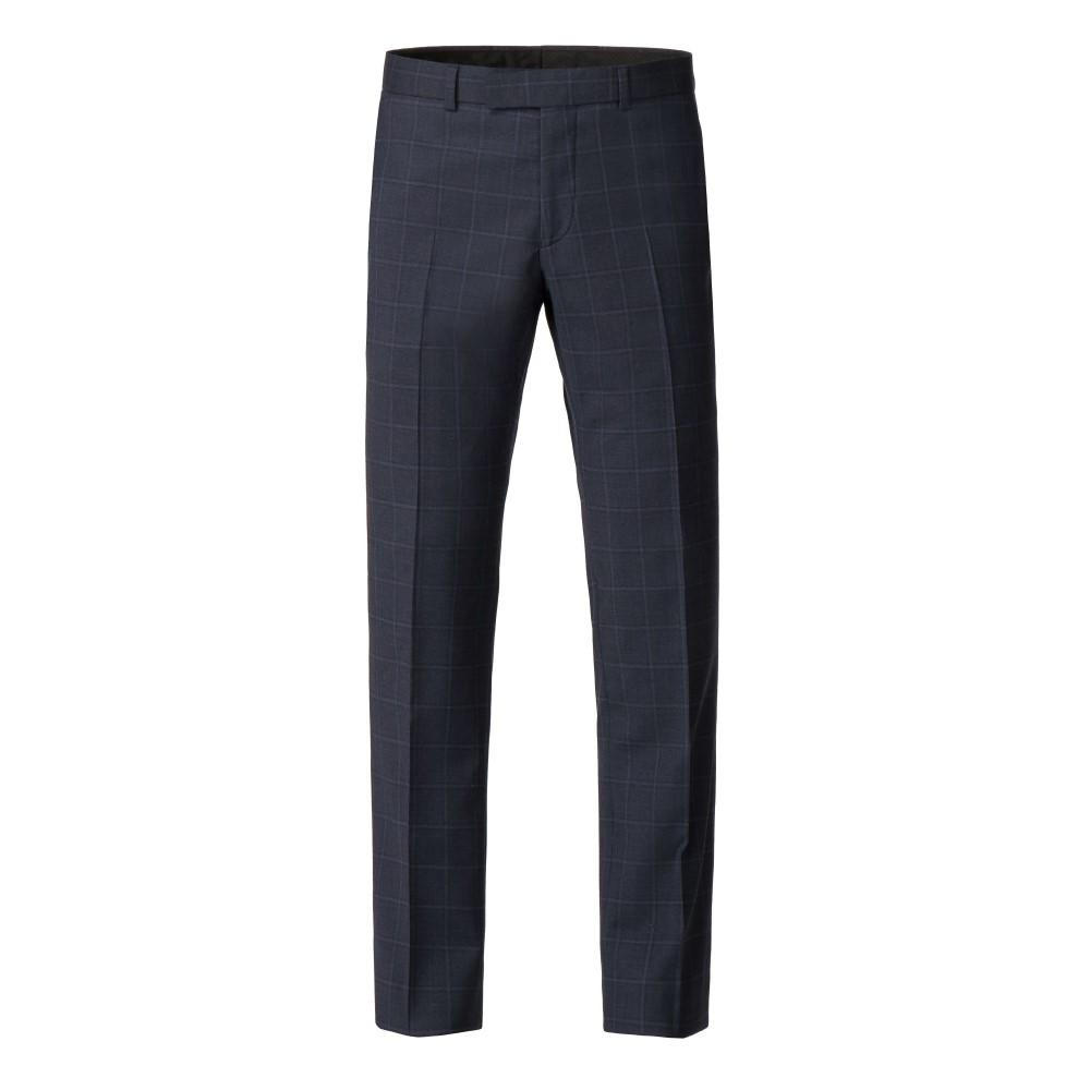 アレクサンダー オブ イングランド メンズ ボトムス・パンツ スラックス【Broome Tailored Check Trouser】blue