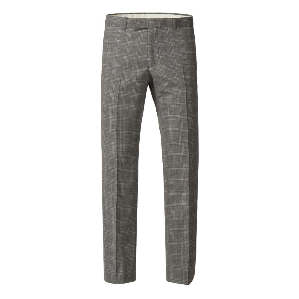 アレクサンダー オブ イングランド メンズ ボトムス・パンツ スラックス【Hester Tailored Check Trouser】grey