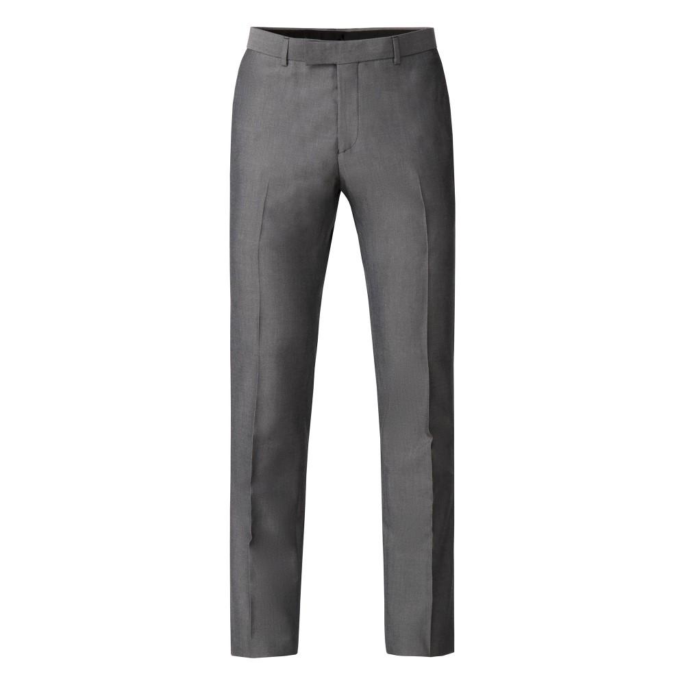 ライムハウス メンズ ボトムス・パンツ スラックス【Harry Silver Grey Tonic Skinny Fit Trousers】grey