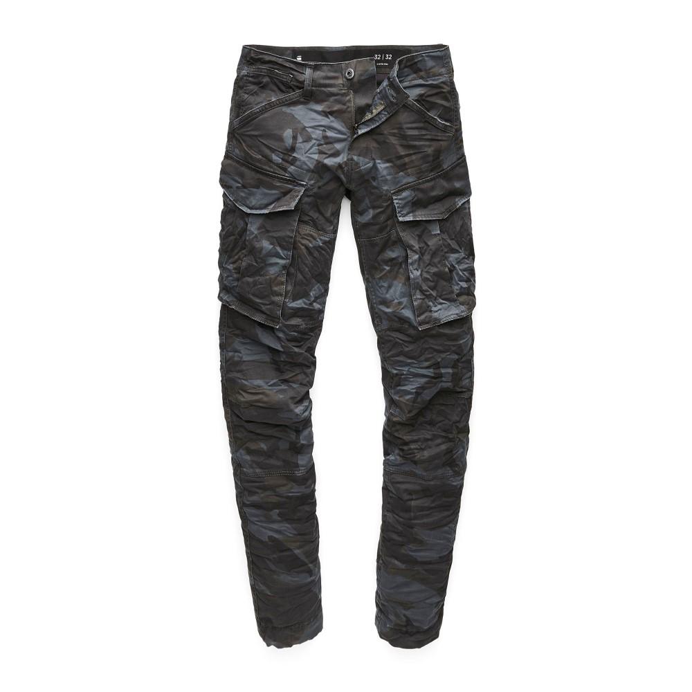 ジースター ロゥ メンズ ボトムス・パンツ カーゴパンツ【Rovic Zip 3d Tapered Pants】black