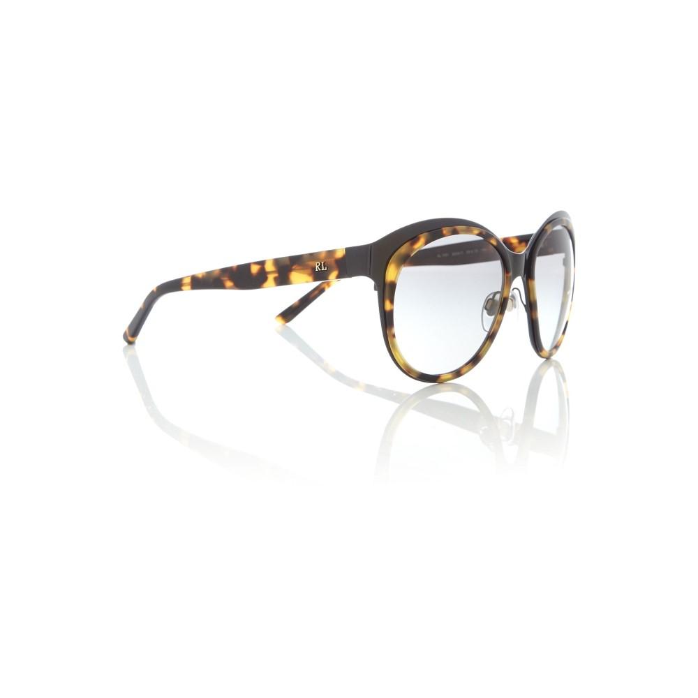 ラルフ ローレン レディース メガネ・サングラス【Shiny Black Irregular 0rl7051 Sunglasses】