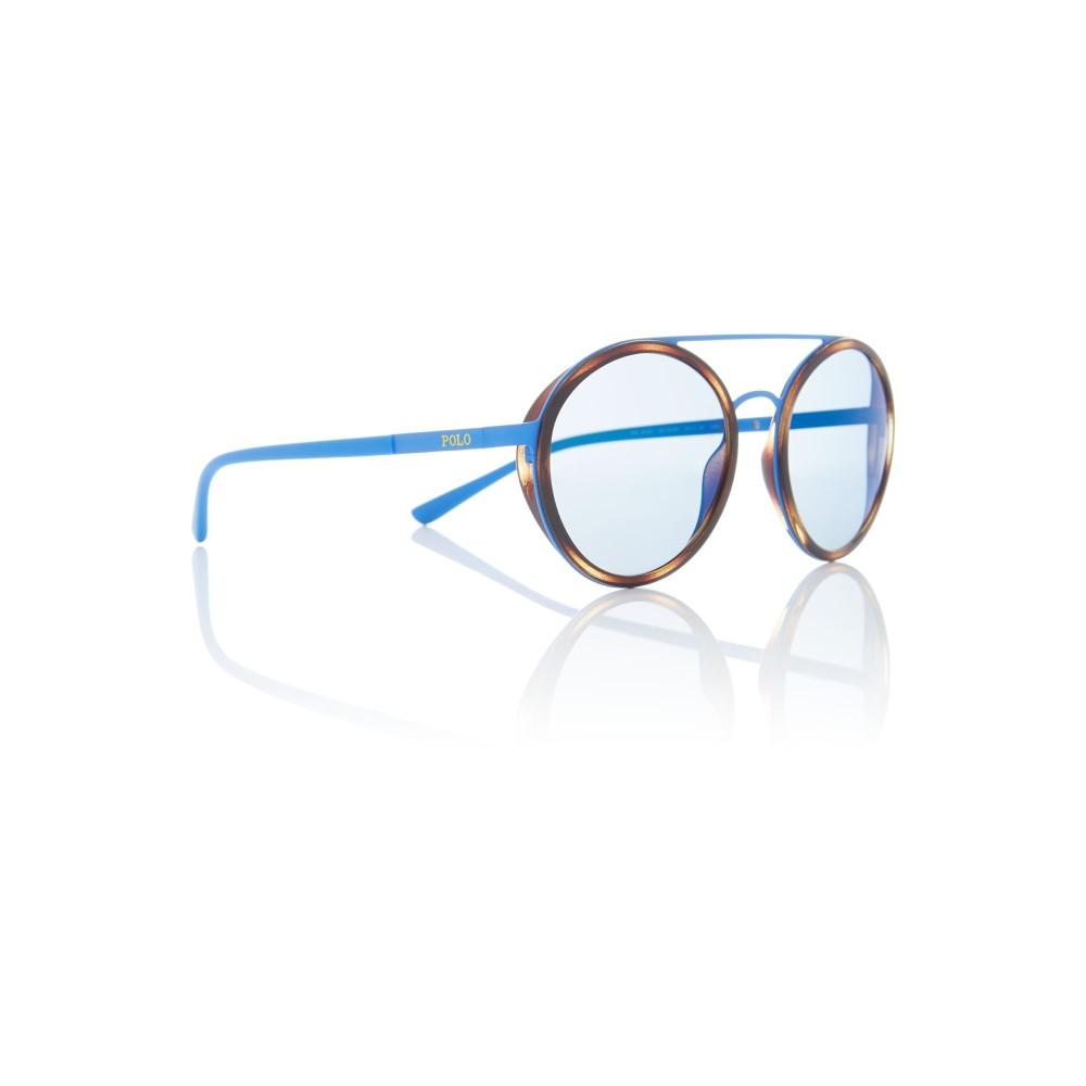 ラルフ ローレン レディース メガネ・サングラス【Matte Blue Round Ph3103 Sunglasses】