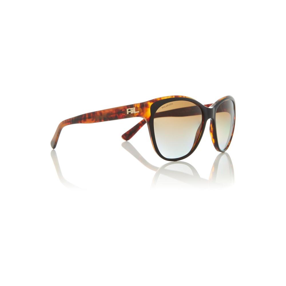 ラルフ ローレン レディース メガネ・サングラス【Black Rl8156 Cat Eye Sunglasses】