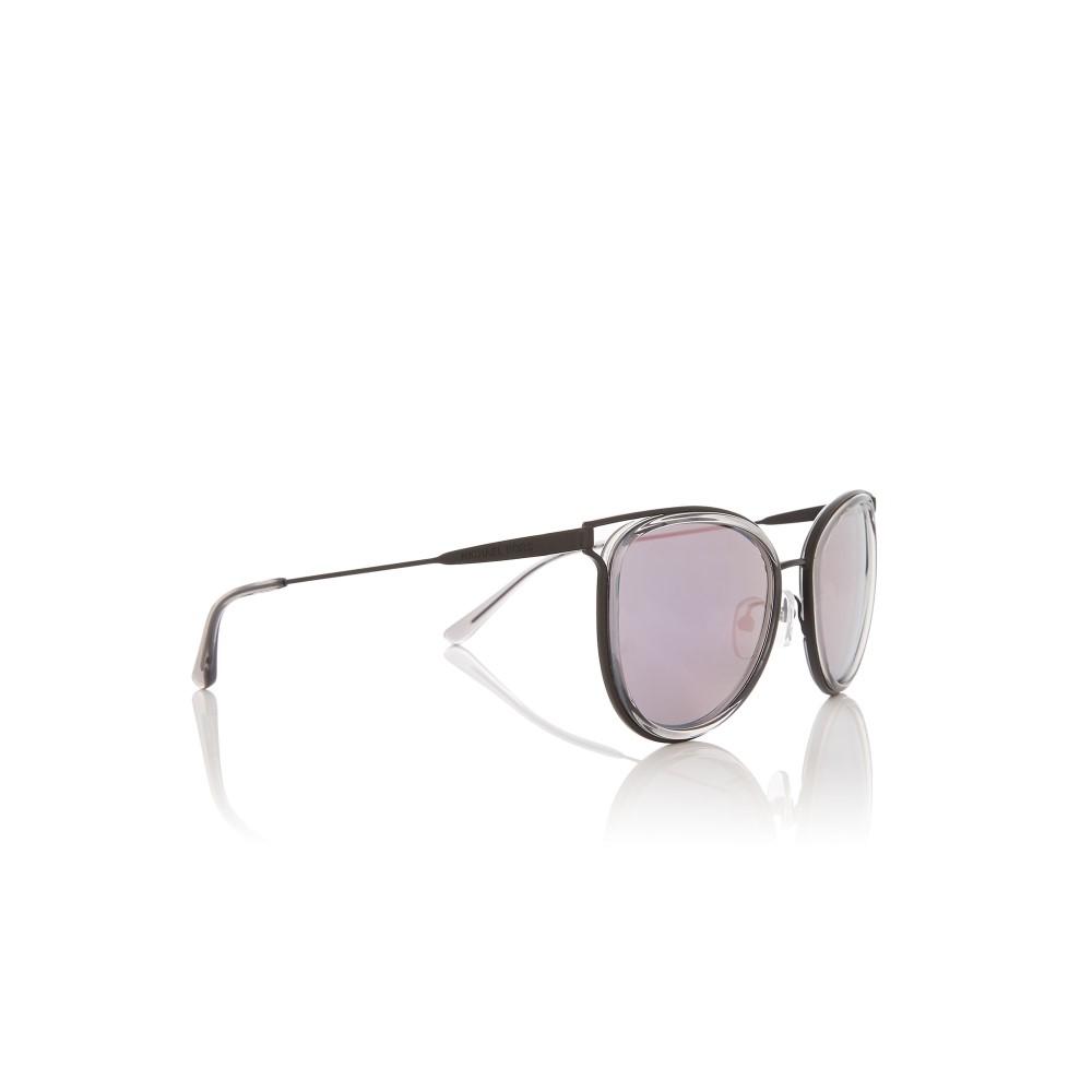 マイケル コース レディース メガネ・サングラス【Black/grey Mk1025 Round Sunglasses】frame colour: black