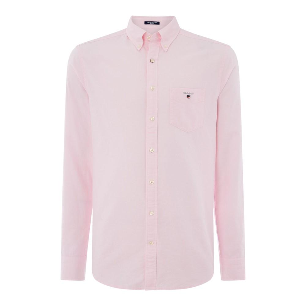 ガント メンズ トップス シャツ【Oxford Shirt】pale pink