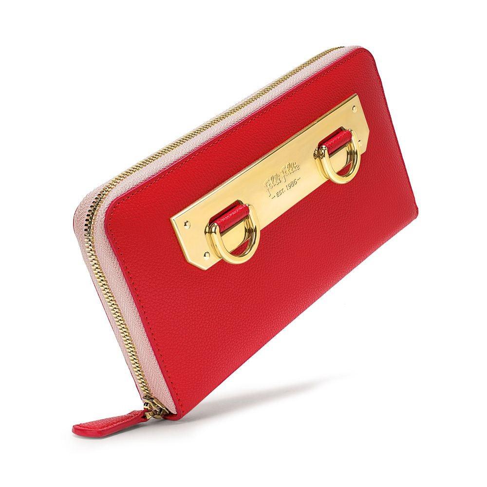 フォリフォリ レディース 財布【Style Code Red Wallet】red