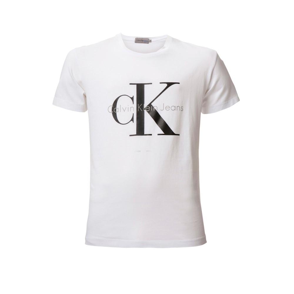 カルバンクライン メンズ トップス Tシャツ【Tee True Icon Cn S/s T-shirt】white