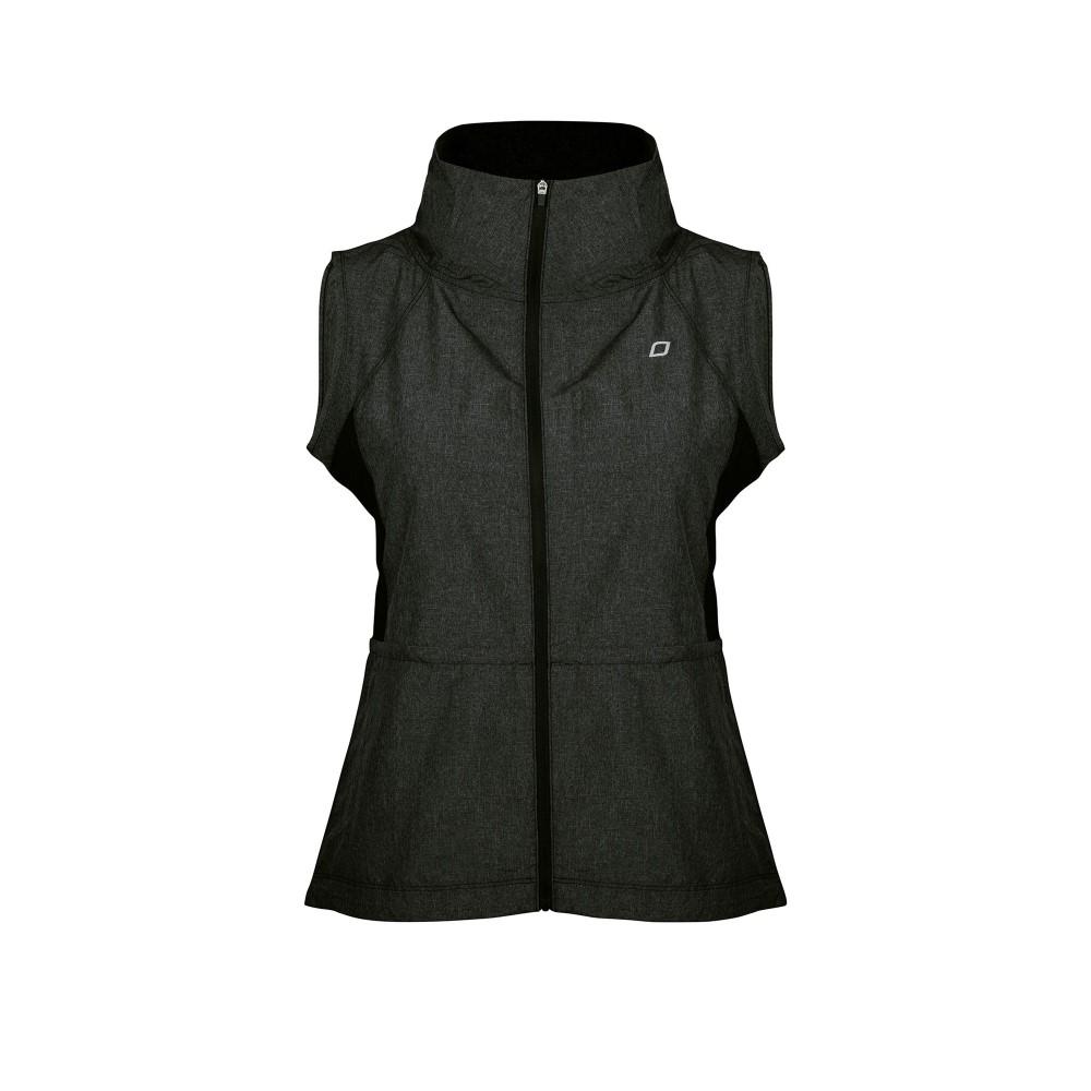 ローナジェーン レディース ランニング・ウォーキング アウター【Cocoon S/less Jacket】black