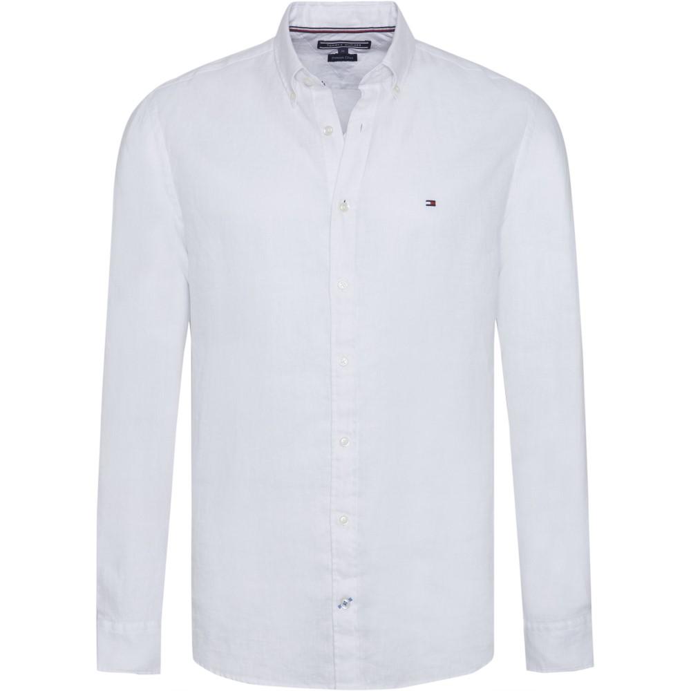 トミー ヒルフィガー メンズ トップス シャツ【Windsurf Linen Shirt】white