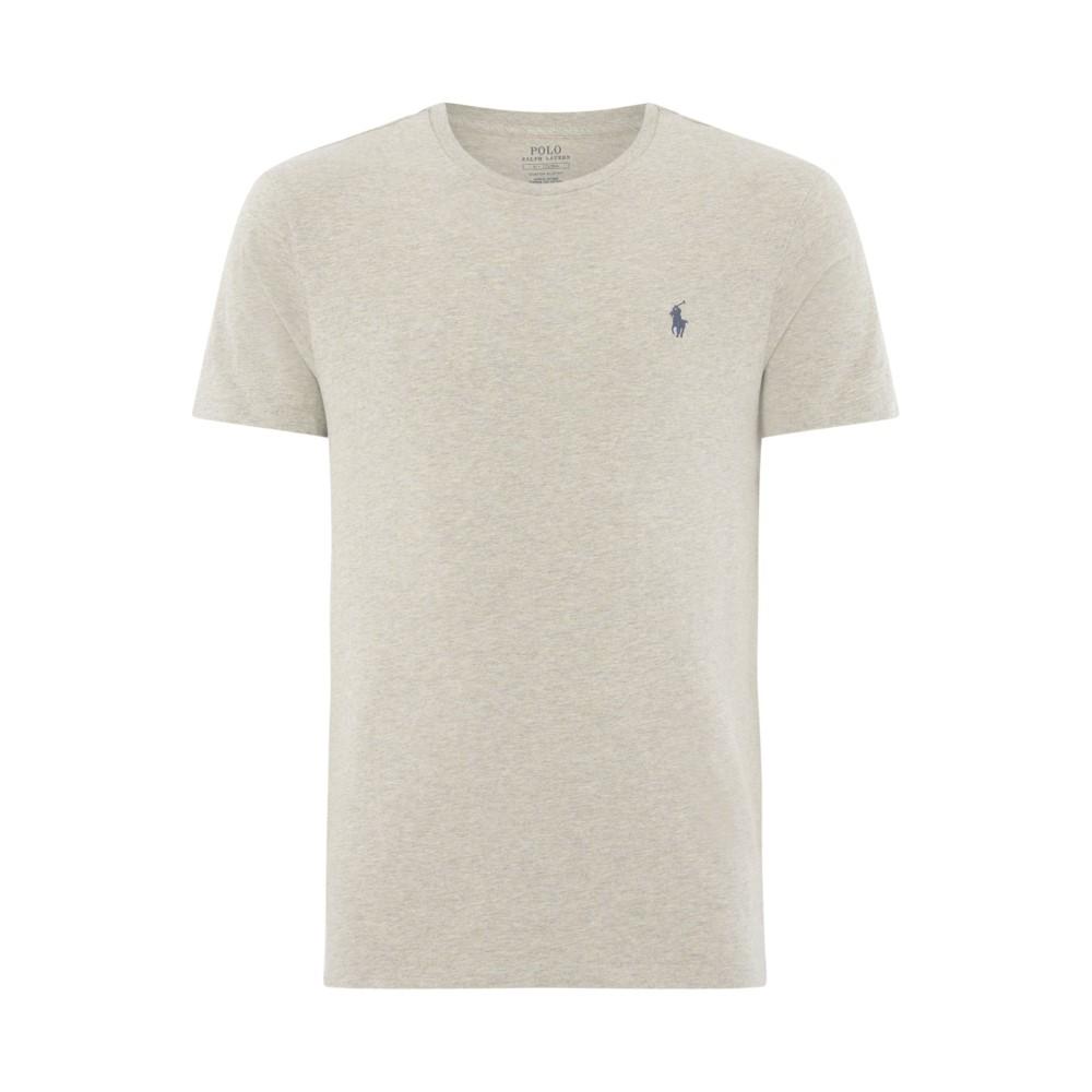 ラルフ ローレン メンズ トップス Tシャツ【Short Sleeve Crew Neck T-shirt】grey