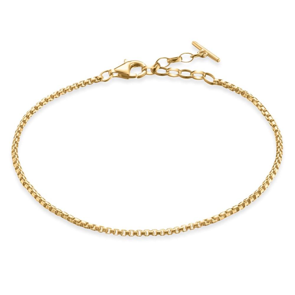 トーマスサボ レディース ジュエリー・アクセサリー ブレスレット【Love Coin Chain Bracelet】gold yellow