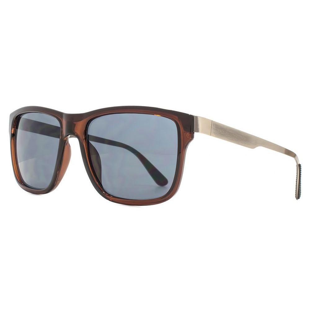 ファブリスレーン メンズ メガネ・サングラス【Fc D Frame With Metal In-lay And Temple Cons】frame colour: brown