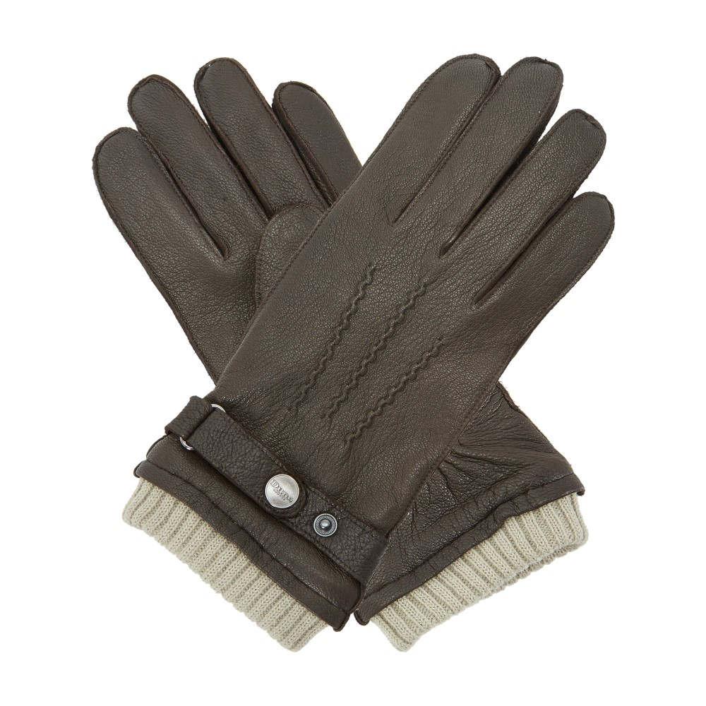 デューン メンズ 手袋・グローブ【Noddy Casual Leather Cuff Gloves】brown