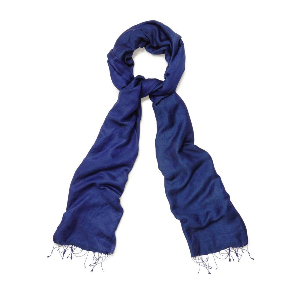 フェーズ エイト レディース マフラー・スカーフ・ストール【Diamond Weave Shawl】blue