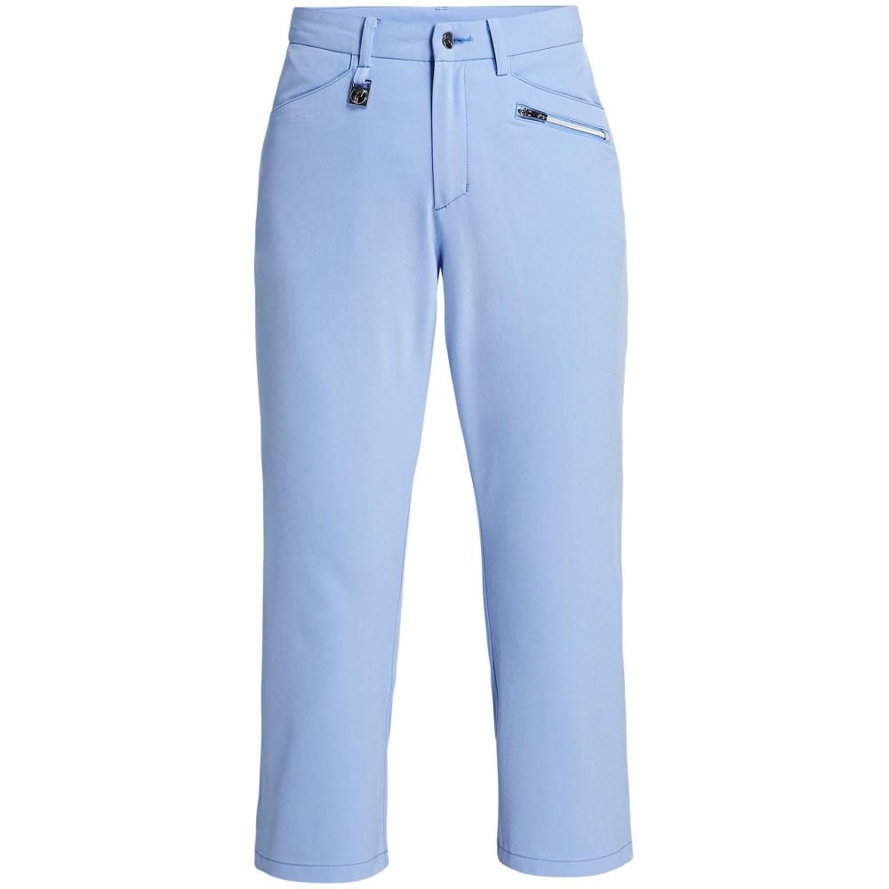 ローニッシュ レディース ゴルフ ボトムス・パンツ【Comfort Stretch Capri】blue