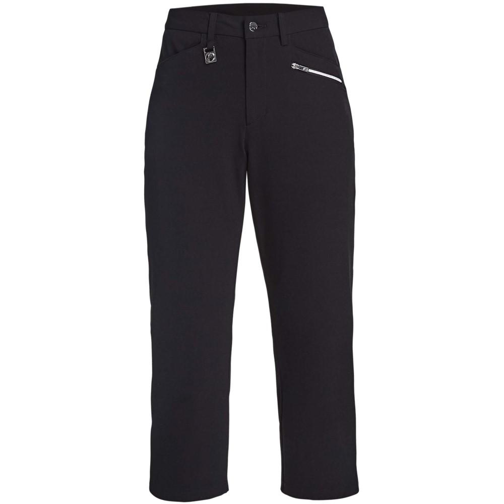 ローニッシュ レディース ゴルフ ボトムス・パンツ【Comfort Stretch Capri】black