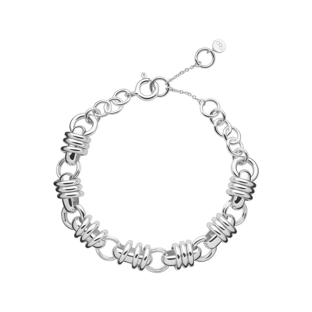 リンクス オブ ロンドン レディース ジュエリー・アクセサリー ブレスレット【Sweetie Charm Chain Bracelet】silver