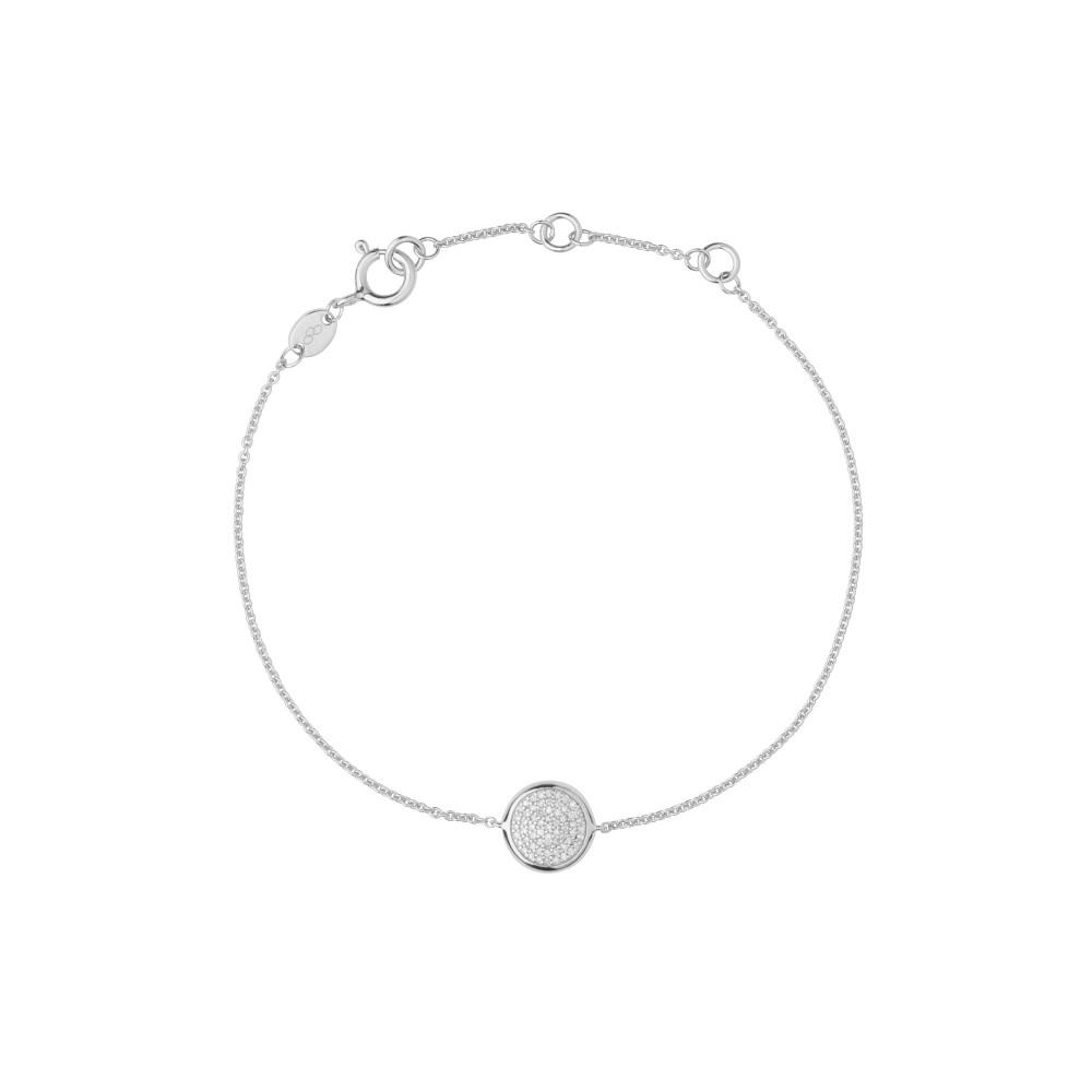 リンクス オブ ロンドン レディース ジュエリー・アクセサリー ブレスレット【Diamond Essentials Round Bracelet】silver