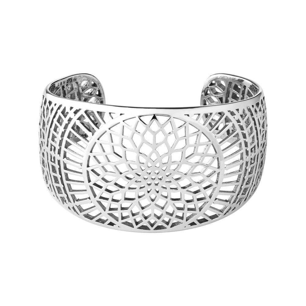 リンクス オブ ロンドン レディース ジュエリー・アクセサリー ブレスレット【Timeless Sterling Silver Cuff Bracelet】
