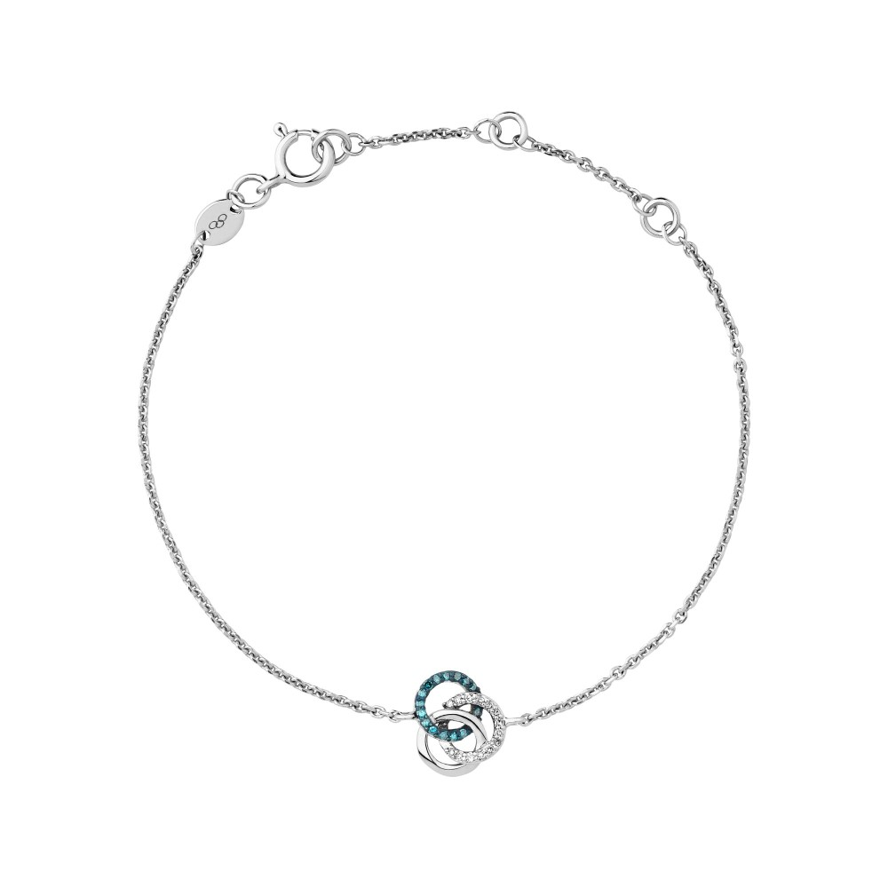 リンクス オブ ロンドン レディース ジュエリー・アクセサリー ブレスレット【Treasured Silver & Diamond Bracelet】