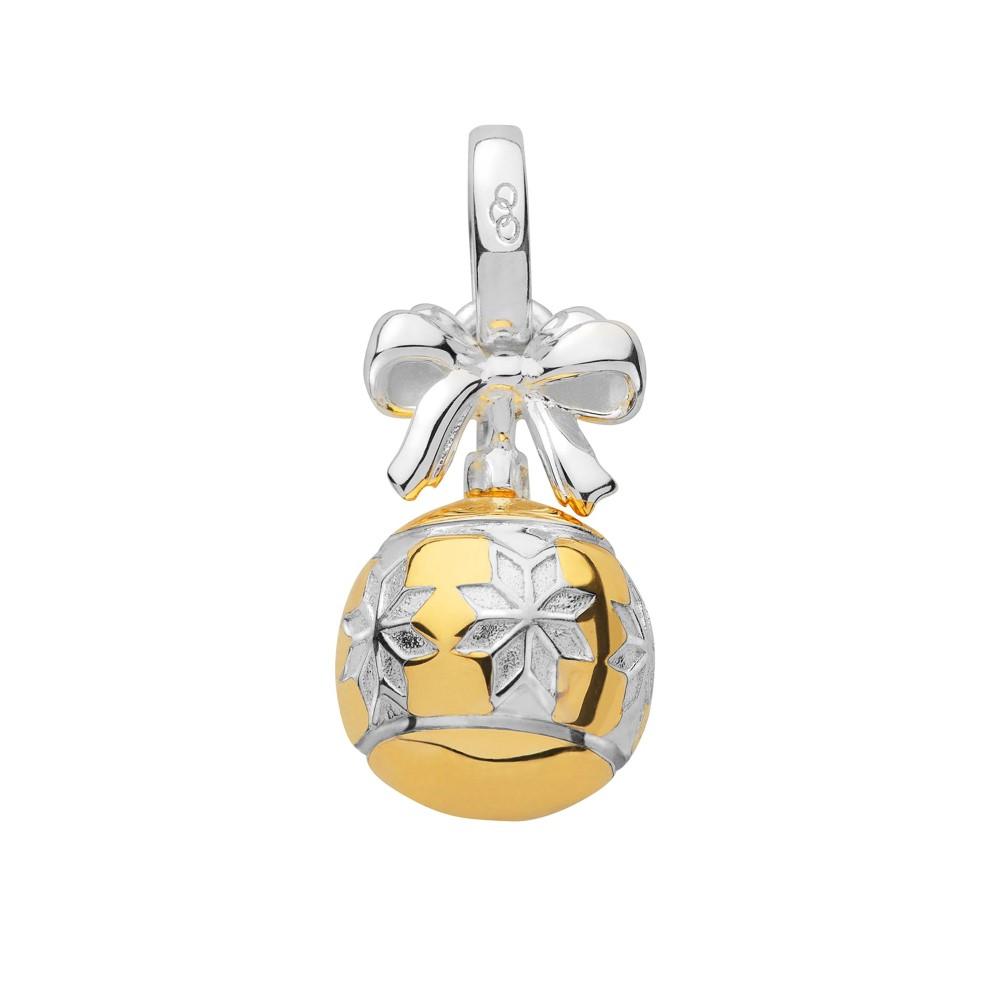 リンクス オブ ロンドン レディース ジュエリー・アクセサリー【Silver & Gold Vermeil Star Bauble Charm】