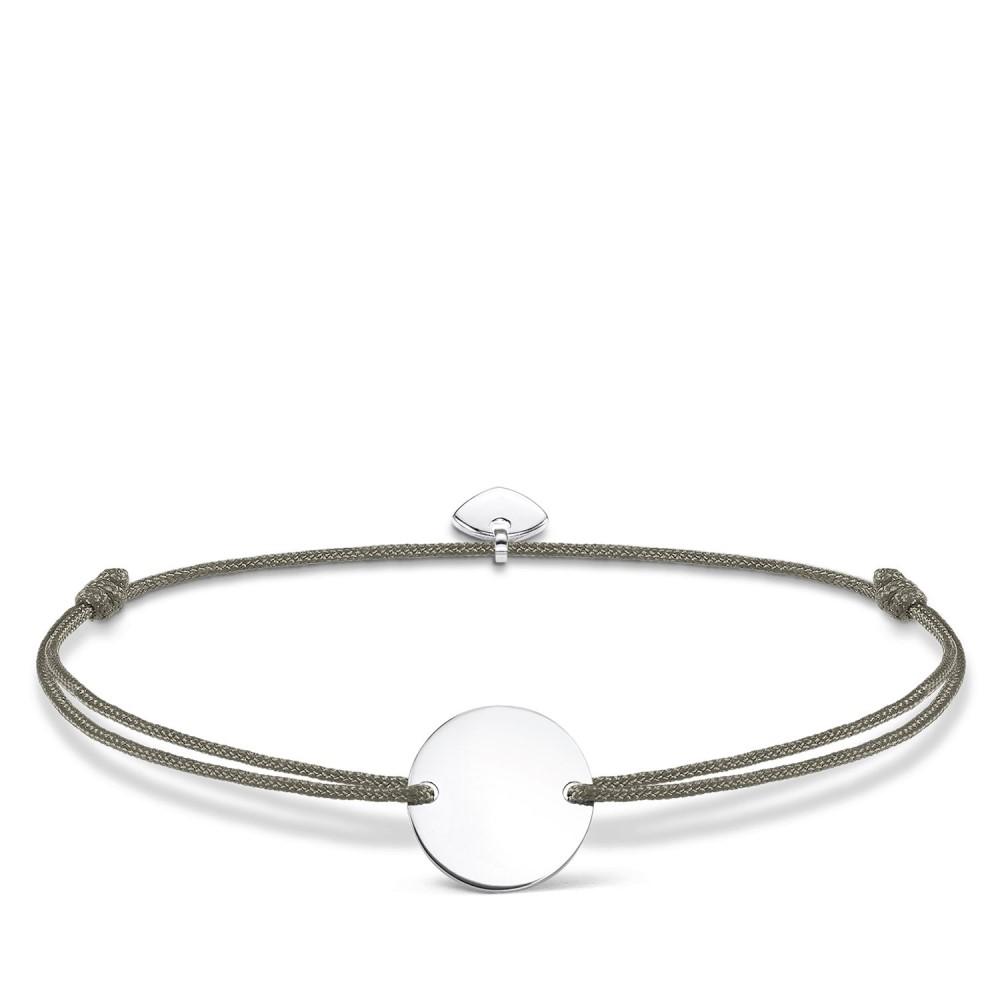 トーマスサボ レディース ジュエリー・アクセサリー ブレスレット【Little Secrets Engravable Disc Bracelet】grey