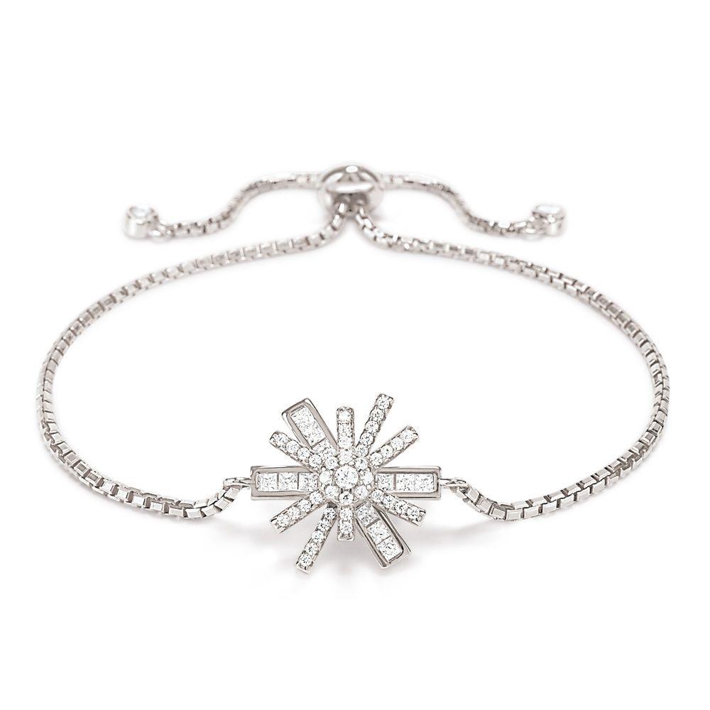フォリフォリ レディース ジュエリー・アクセサリー ブレスレット【Star Flower Toggle Bracelet】silver