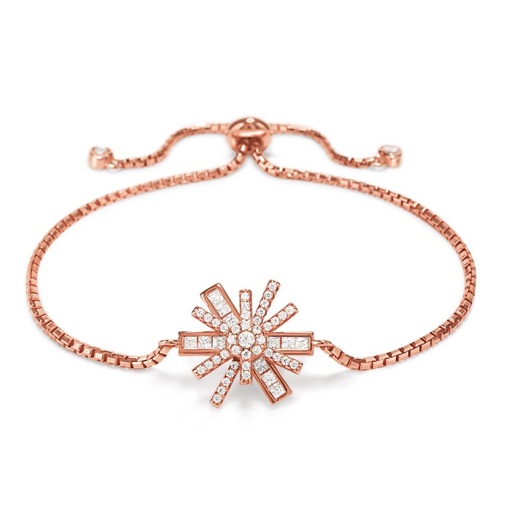 フォリフォリ レディース ジュエリー・アクセサリー ブレスレット【Star Flower Toggle Bracelet】rose gold