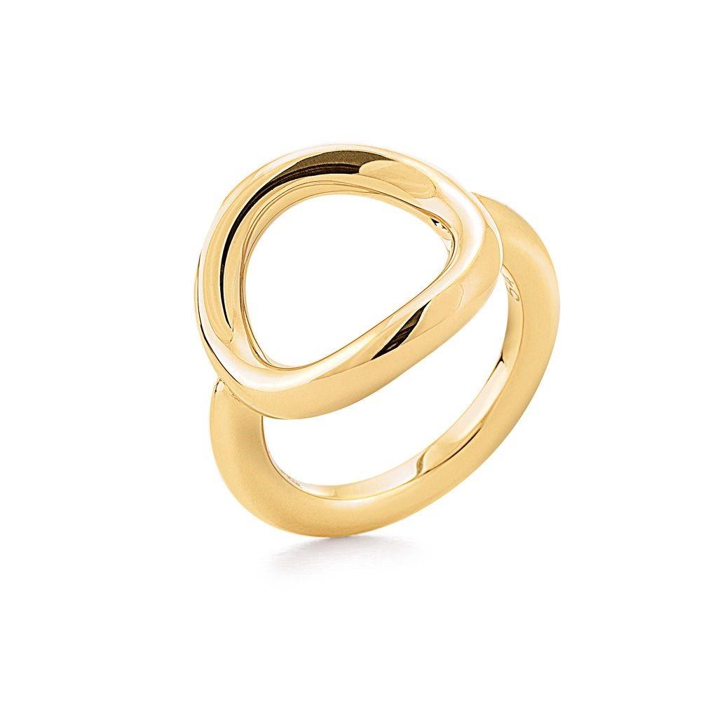 フォリフォリ レディース ジュエリー・アクセサリー 指輪・リング【Metal Chic Ring】gold