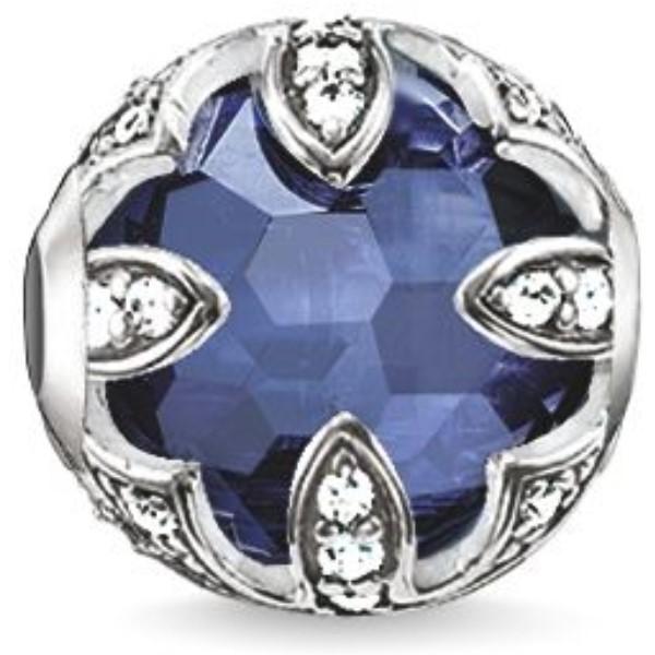 トーマスサボ レディース ジュエリー レディース・アクセサリー Bead】dark【Karma Beads blue Lotus Sapphire-blue Bead】dark blue, 福澤モータースクール:51eea853 --- fancycertifieds.xyz