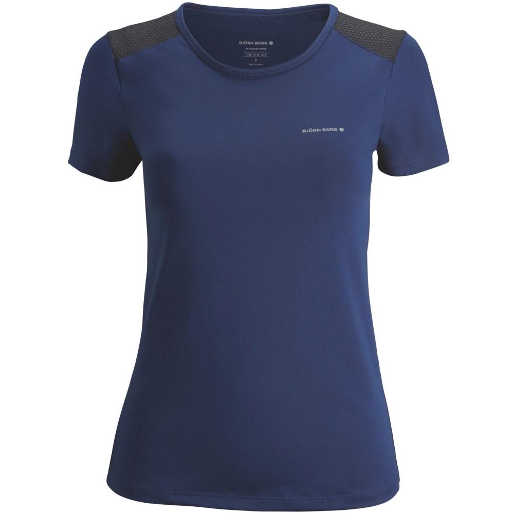 ファッションの ビヨン ボルグ Tee】blue レディース フィットネス・トレーニング ビヨン トップス Ss【Page Ss Tee】blue, SHOETIME:198923e4 --- themarqueeindrumlish.ie