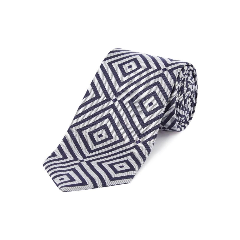 チェスター バリー メンズ ネクタイ【Giant Diamond Tie】navy