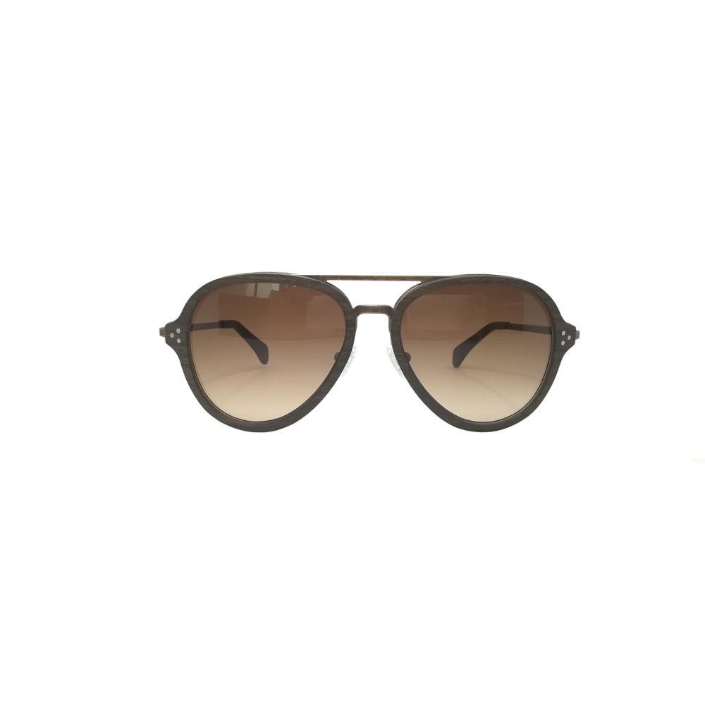 ラヴァンテ メンズ メガネ・サングラス【Oak Wood Hayden Aviator Sunglasses】frame colour: black